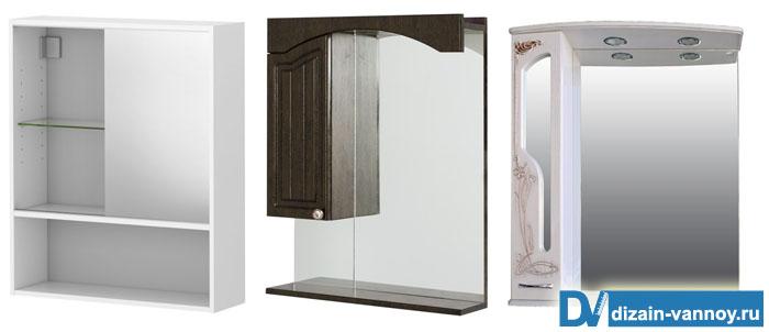 шкаф зеркало угловой для ванной