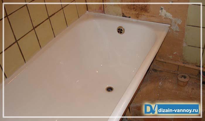 покрыть ванну эмалью