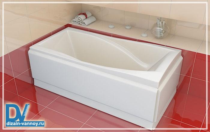 акриловая ванна из чего сделана