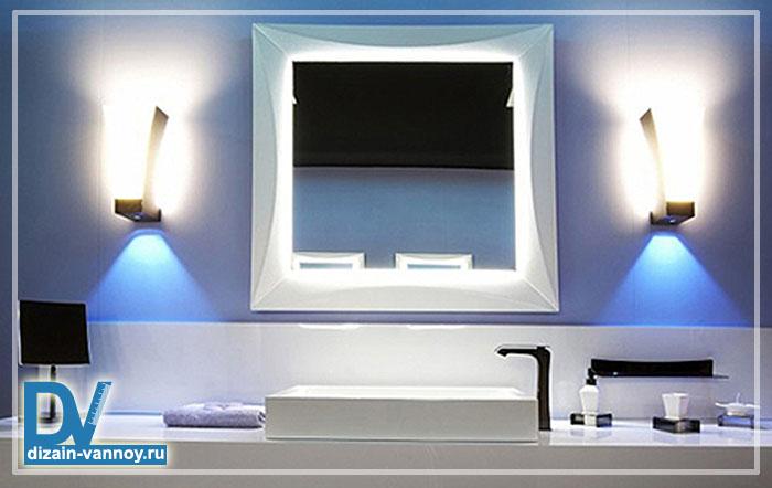 светильники настенные для ванной комнаты