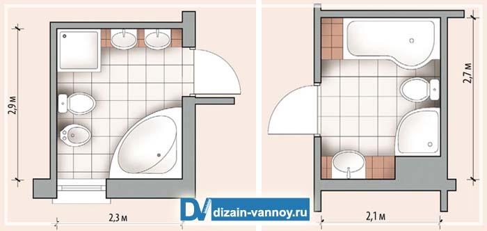 кабины для ванной