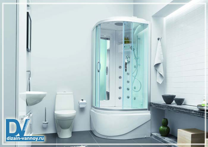 душ вместо ванной фото