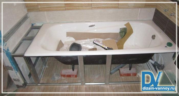 зеркальный экран под ванну отзывы