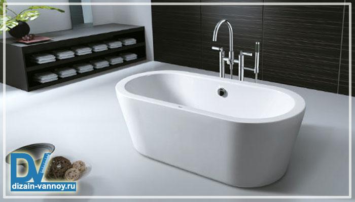 отдельно стоящие ванны