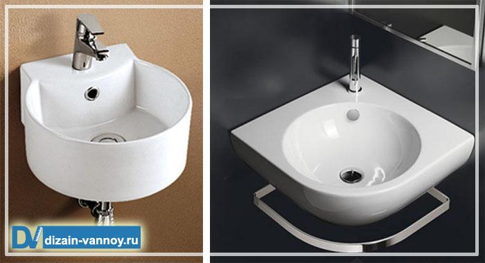 подвесная раковина для ванной фото