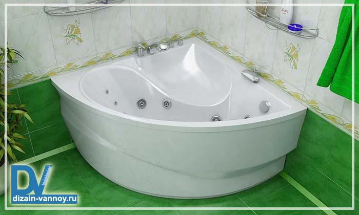 из чего делают акриловые ванны