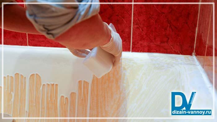 изготовление акриловой ванны своими руками