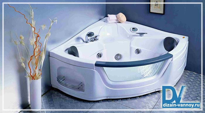 ванны гидромассажные угловые