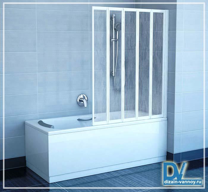 ванная с дверцами