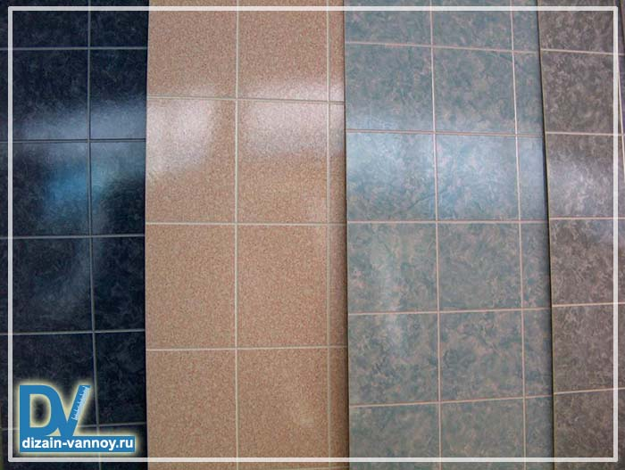 водостойкие панели для ванной