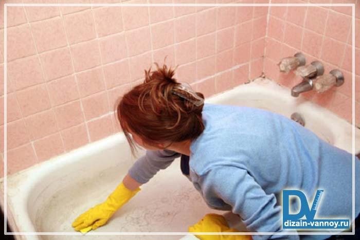 ремонт стальной ванны