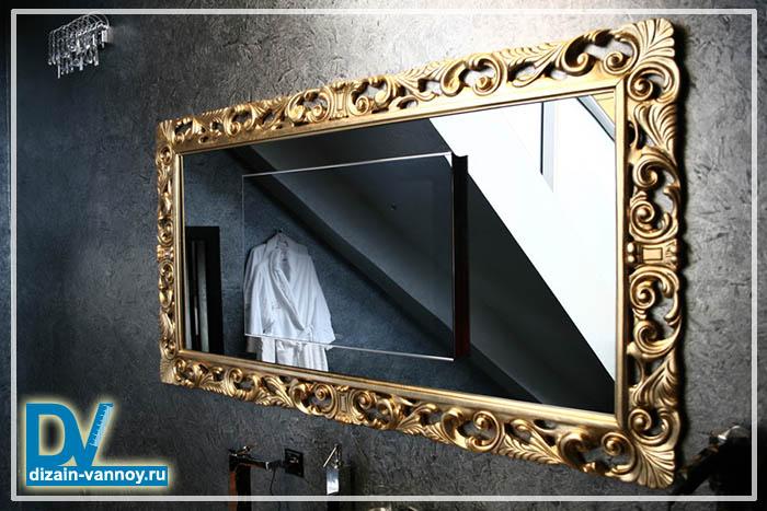 красивые зеркала в ванную комнату