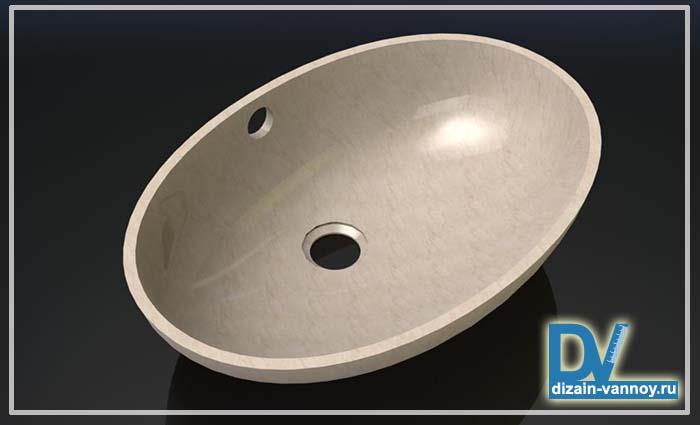 раковина из камня для ванной