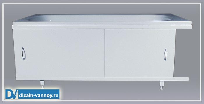 экраны для ванной раздвижные