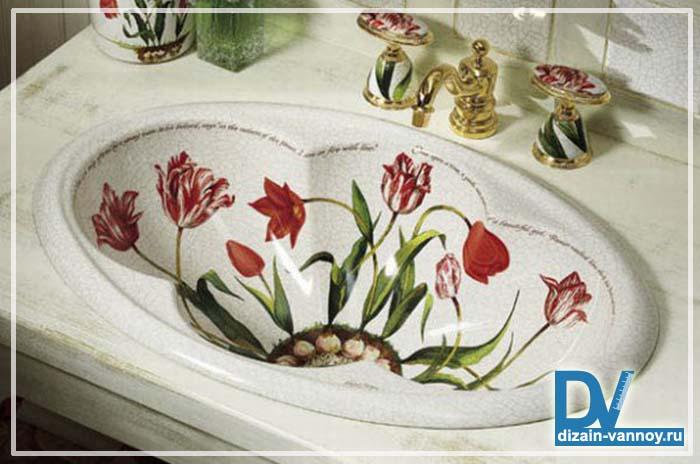 красивые раковины для ванной фото