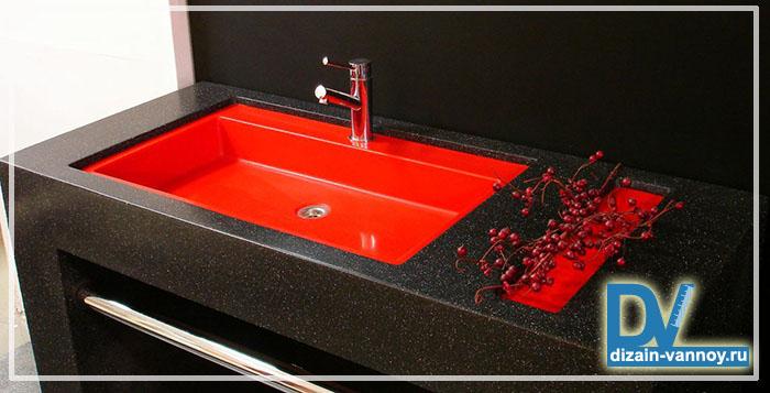 раковины цветные для ванной