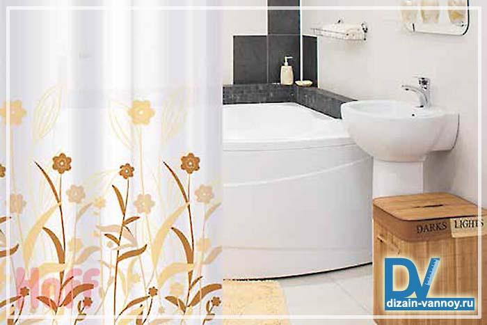 шторы для ванной комнаты текстиль