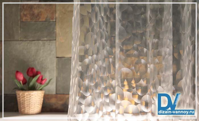 штора для ванной 3д фото