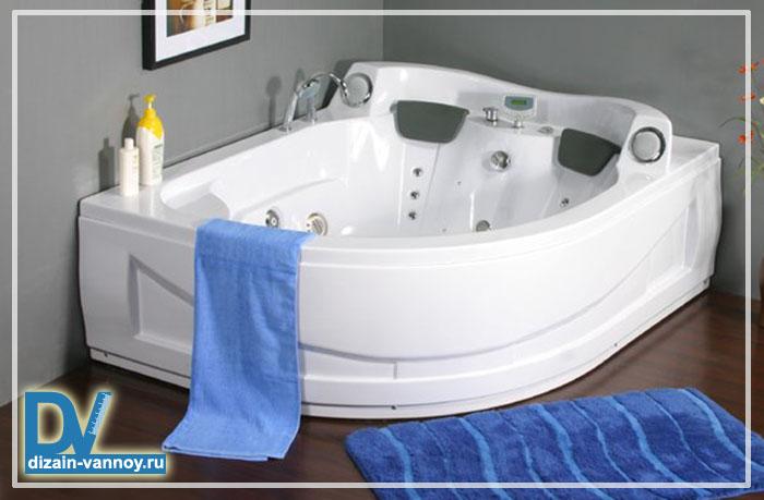 большая ванная фото