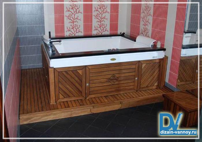 экран для чугунной ванны