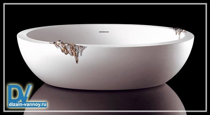 ванны из камня