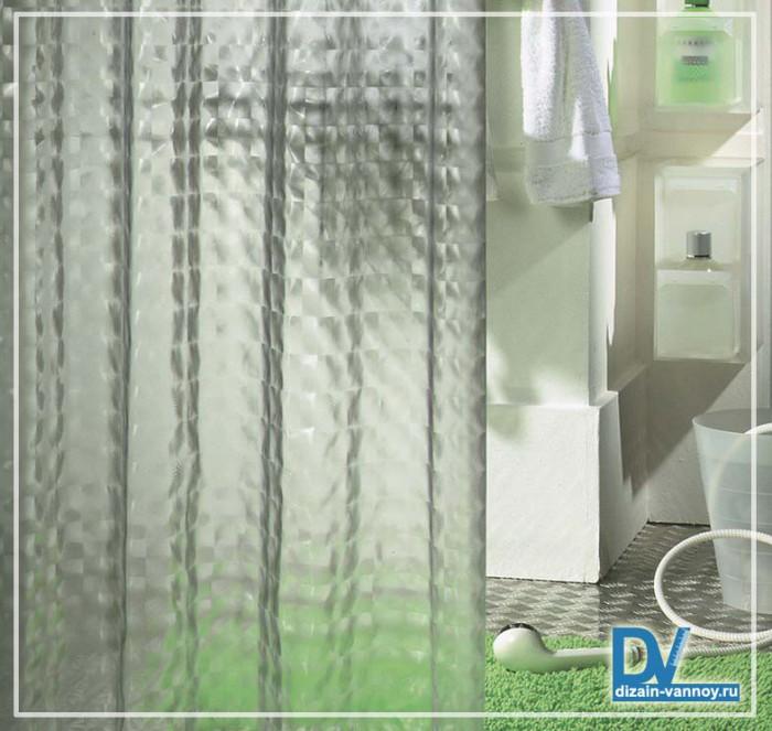 шторки для ванной 3д