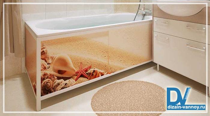 установка экрана под ванну инструкция