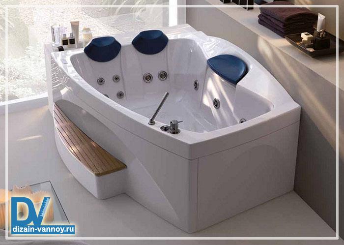 очень глубокая ванна