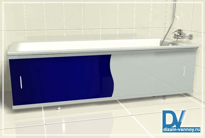 экран под ванну акриловый