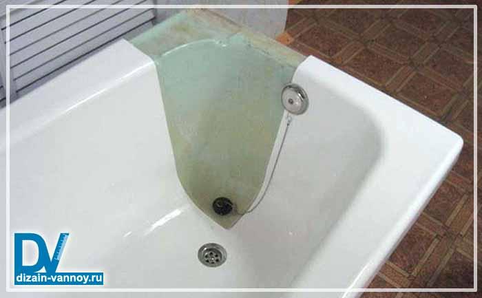 акриловое покрытие ванны отзывы