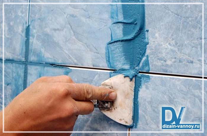 как герметизировать ванну со стеной