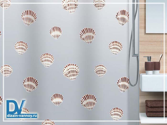 шторка для ванной размеры
