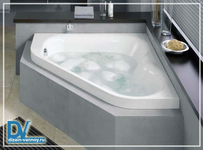 малогабаритные ванны