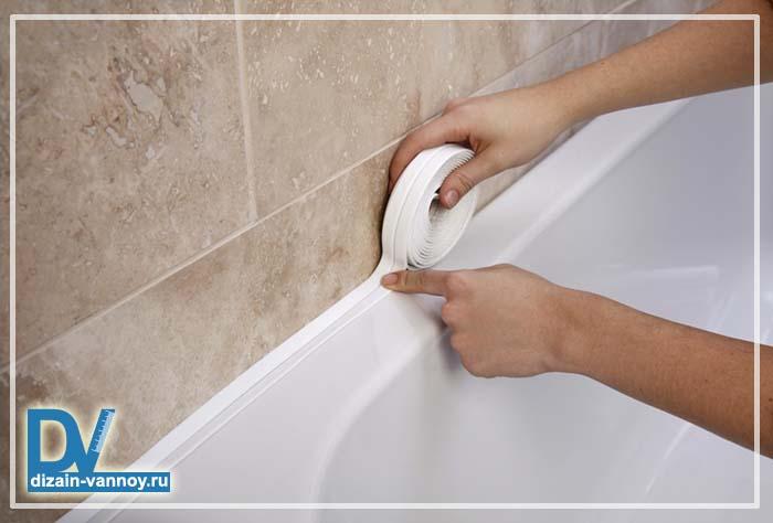 акриловый бордюр для ванны