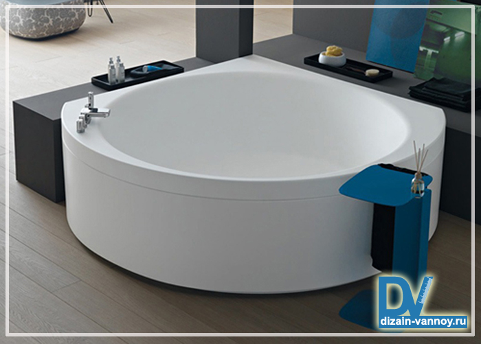 угловые чугунные ванны фото