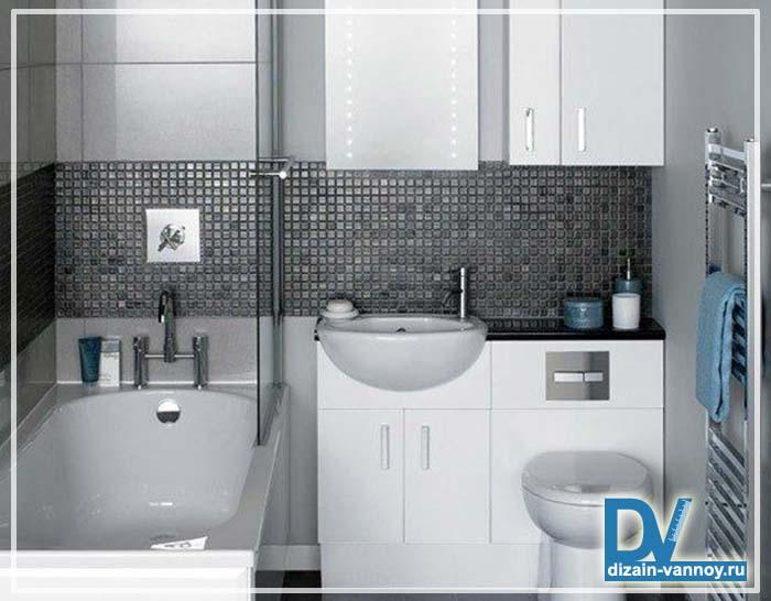 ремонт стандартной ванной комнаты фото