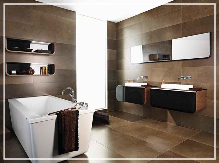 идеи интерьера для маленькой ванной