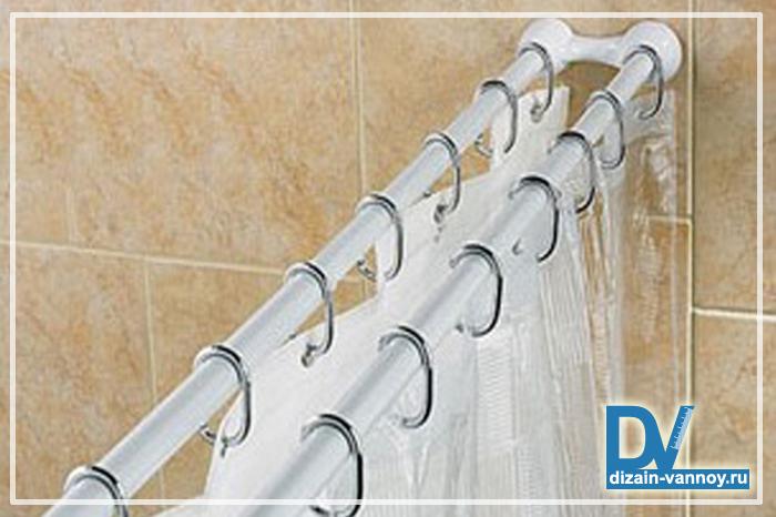 занавески виниловые для ванной