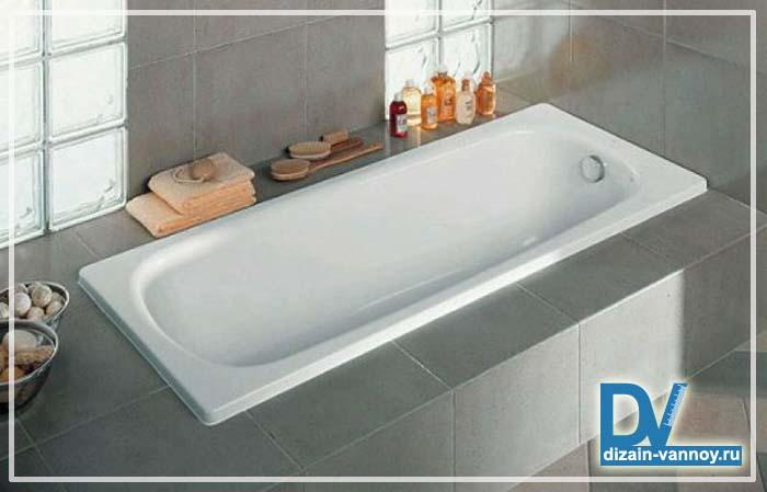 емкость стандартной ванны