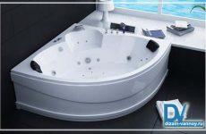 размеры сидячей ванны