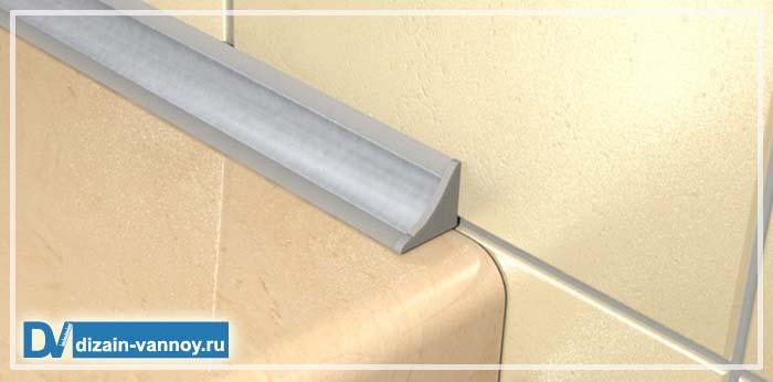 силиконовый уголок для ванной