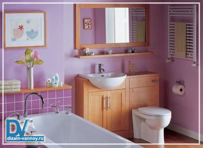 фото стандартных ванных комнат