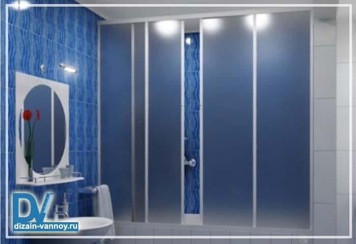 виниловые шторы в ванную