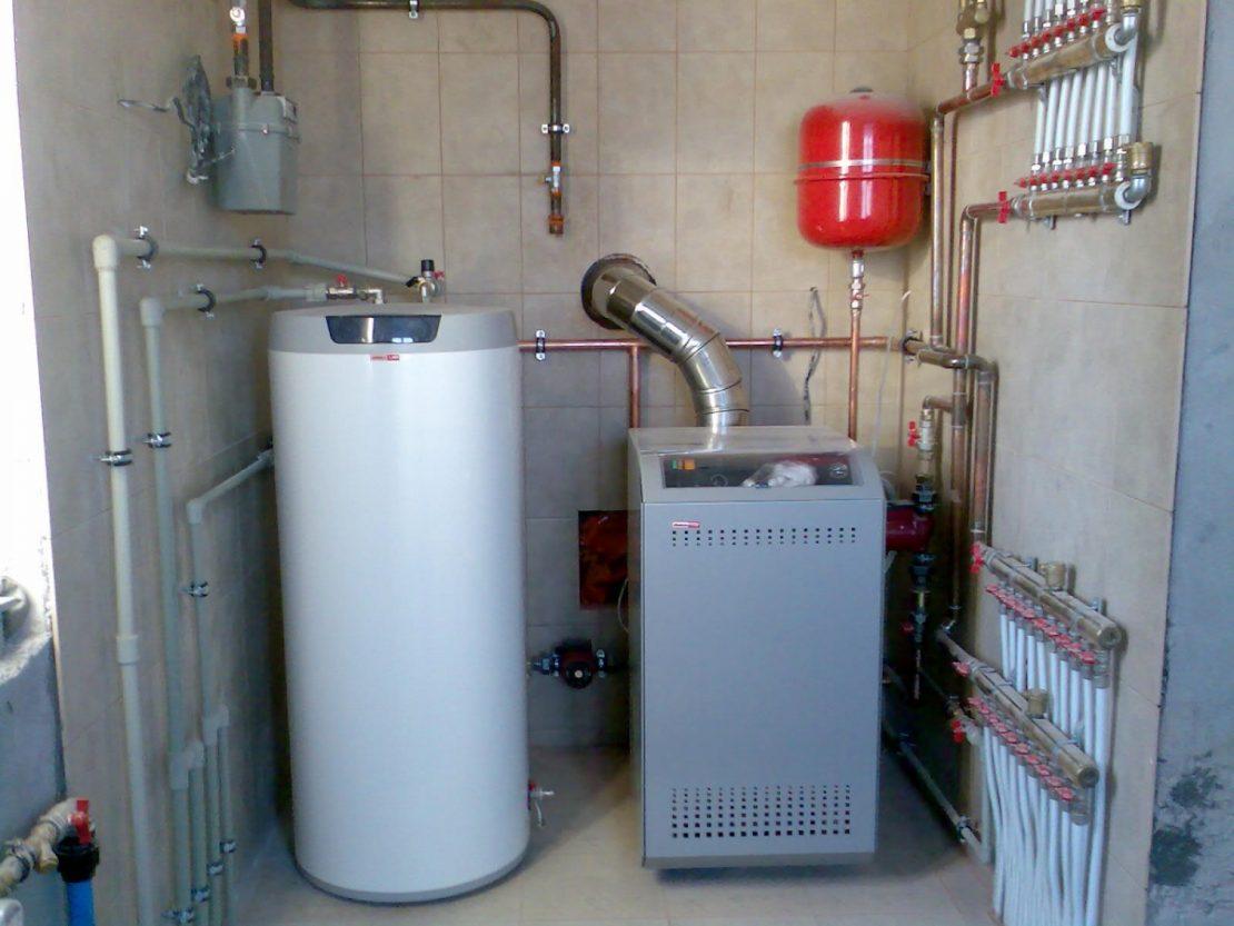 установка газового отопления