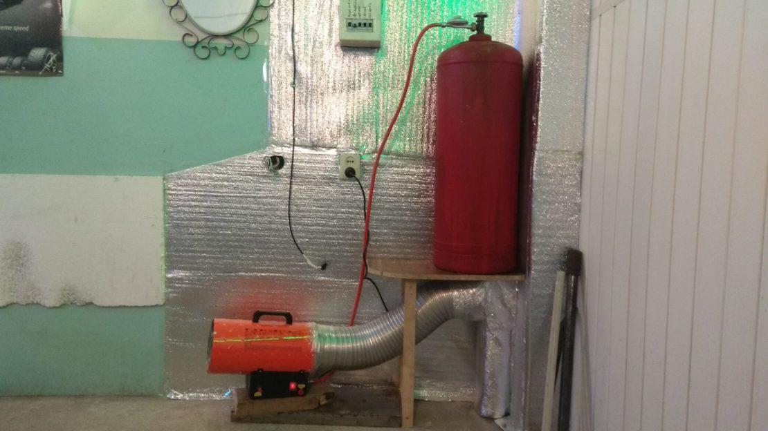 газовое отопление гаража