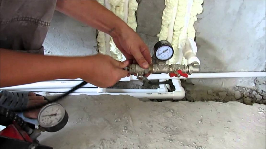 опрессовка системы отопления