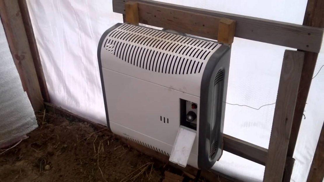 отопление теплицы электроприборами