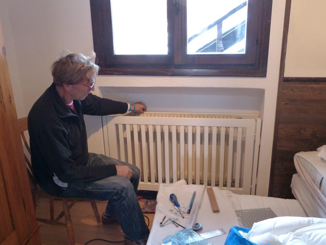 изготовление декоративной решетки