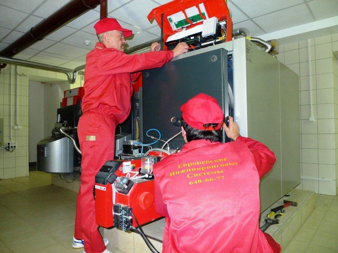 ремонт дизельных котлов отопления