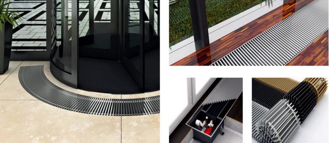 разновидности встроенных радиаторов